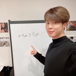 [아이돌정보] 방탄소년단 지민, 홍보부장 자청...